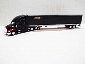 Trucks n Stuff TNS121 - HO Kenworth T680 Sleeper-Cab Tractor - 53ft Reefer Trailer - JEM Transport