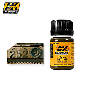 AK Interactive 25 - Fuel Stains -  Enamel Paint - 35ml Bottle