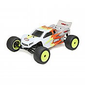 Losi 01015T3 - 1/18 Mini T 2.0 2WD Stadium Truck Brushed RTR (Grey and White)