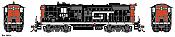 Athearn G62944 HO EMD GP9 Grand Trunk Western GT 4438 DCC & Sound - Tsunami2