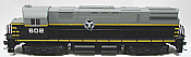 Atlas Classic 10002561 - HO C424 Phase 3 - DCC & Sound - Belt Railway of Chicago 604