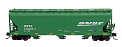 Intermountain 67082-06 - N ACF 4650 Cubic Ft. 3-Bay Hoppers - BNSF #403372