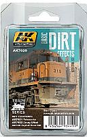 AK Interactive 7020 - Basic Dirt Effects Weathering - Enamel Paint Set (3)