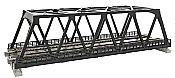"Kato Unitrack 20-438 N Scale Double-Track Truss Bridge 9.75"" 24.8cm (black)"