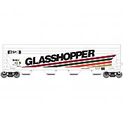 Athearn Roundhouse 7257 HO - ACF 5250 CF Hopper - Glasshopper II (RNDX) #165