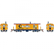 Athearn G78332 - HO Scale ICC Caboose w/lights and DCC/Sound - B&O/ Chessie #C-3962
