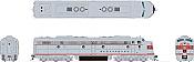 Rapido 28508 HO - EMD E8A (DC/DCC/Sound) Burlington (CB&Q): #9985A