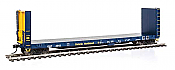 Walthers Proto 104324 HO 50 Ft CC&F Bulkhead Flatcar - Ontario Northland ONT #4547