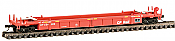 WalthersN 8001 N Scale Thrall Stand-Alone 48 FT Well Car - Ready to Run - Canadian Pacific 524300
