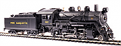 Broadway Limited 6350 - HO 2-8-0 Consolidation - DC/DCC/Sound Paragon3 - Pere Marquette #907