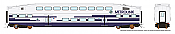 Rapido 146011 HO - Single BiLevel Commuter Car - Metrolink - Unnumbered