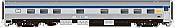 Rapido 119015 HO Scale - Budd Manor Sleeper Original Scheme - VIA Rail, Amherst Manor #10303