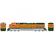 Athearn Roundhouse 78044 HO  Dash 9-44CW DCC Ready BNSF/ Heritage II No5137