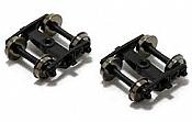 Atlas 190000 - HO Roller-Bearing Caboose Wheel Trucks (2pcs)