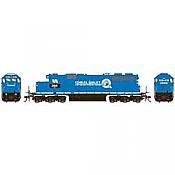 Athearn RTR 88646 - HO SD38 - DCC Ready - Conrail (NS) #3818