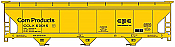 Accurail 81371 - HO ACF 47Ft 3-Bay Centerflow Covered Hopper Kit - Corn Products International #60015