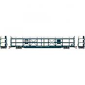 Athearn G69529 - HO F89-F Tri-Level Auto Rack - Wabash #911381