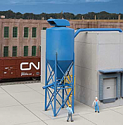 Walthers 4087 HO Cornerstone - Particulate Dust Cyclone - Modern Industrial Park