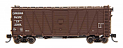 Intermountain 66075-06 - N 40ft WWII Emergency Boxcar - Canadian Pacific 239191