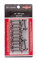 Intermountain Railway 40050 - HO Brass Insulated - 33in Wheel Sets (12pcs)