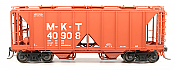 Intermountain 48691-05 HO 1958 Cu Ft 2 Bay Covered  Hopper- Open Sides -MKT #40944