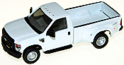 River Point Station 536575501 Ford F-350 Pickup Truck w/Standard Cab & Flare Box - White