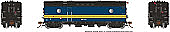 Rapido Trains 107355-1 HO Steam Heater Car VIA Rail Canada No.15454