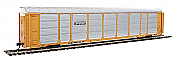 Walthers Proto 101432 - HO 89ft Thrall Enclosed Tri-Level Auto Carrier - TTX/ETTX Flat #331154/710851