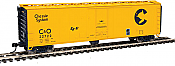 Walthers 2834 HO Mainline 50ft PC&F Insulated Boxcar Chesapeake & Ohio C&O #22722