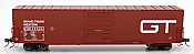 Intermountain 46904-02 HO Scale - 60Ft PS-1 Boxcar - Grand Trunk Western - BCR #383479