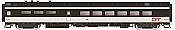 Rapido Trains 124063 HO Scale Pullman-Standard Lightweight Diner-Lounge Grand Trunk Western 1346 Pre Order