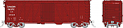 Rapido 142103-6 - HO USRA CPR Clone Boxcar: Canadian Pacific - Late #236024
