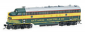 Intermountain Railway HO 49948S-07 EMD FP7A Ontario Northland #1514 SoundTrax Tsunami Sound & DCC