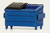 Hi-Tech Details 8003 HO Trash/Recycling Dumpster - Kit