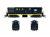 Rapido 044502 HO FM H16.44, With Sound & DCC,  Baltimore & Ohio Blue Scheme No.9741