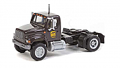 Walthers HO 11193 SceneMaster International(R) 4900 Single-Axle Semi Tractor Only - Assembled - UPS New Shield Scheme