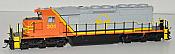 Bowser 24571 HO GMD SD40-2 DCC Readu - Wellsboro and Corning Railroad #301 6-24571