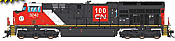 Intermountain 497108-02 - HO ET44 Tier 4 - DCC Equipped - CN/100th Anniversary #3221