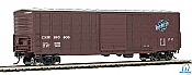 Walters Mainline HO 2323 50 Ft Waffle side Boxcar Chicago and North Western No.160406