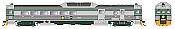 Rapido Trains 16257 - HO Budd RDC-3 - PH2 - DC - BC Rail #BC33