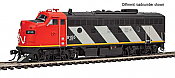 Walthers EMD F7 A Canadian National 9169 with Tsunami sound and DCC