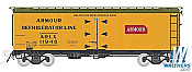 Rapido 121051-2 HO 37ft General American Meat Reefer Armour No.11890