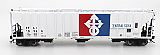 Intermountain 472251-06 HO Scale - 4785 PS2-CD Covered Hopper - Late End Frame - Central Soya #35260
