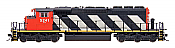 Intermountain 49301S-09 HO EMD / GMDD SD40-2W, Canadian National #5243 ESU DCC & Sound