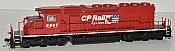 Bowser 24458 HO GMD SD40-2 DCC & Sound ESU LokSound - CP Rail - Dual Flag Scheme #5596