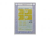 Microscale Decals 87717 HO - Canada 4 Bay Cylindrical Grain Hoppers 1973+