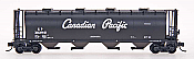 Intermountain 65212-38 N Scale - Cylindrical Covered Hopper - Round Hatch - Canadian Pacific - Script #382377