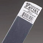 K&S Engineering 87161 All Scale - 0.018 inch Thick Stainless Steel Flat Strip - 1 inch x 12inch