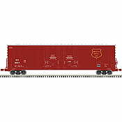 Atlas 20005421 - HO 53ft Evans Double Plug Door Boxcar - Wisconsin Central #1040