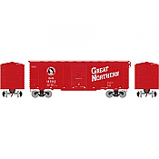 Athearn 73703 HO - RTR 40Ft Youngstown Door Box - Great Northern/ Red #18592